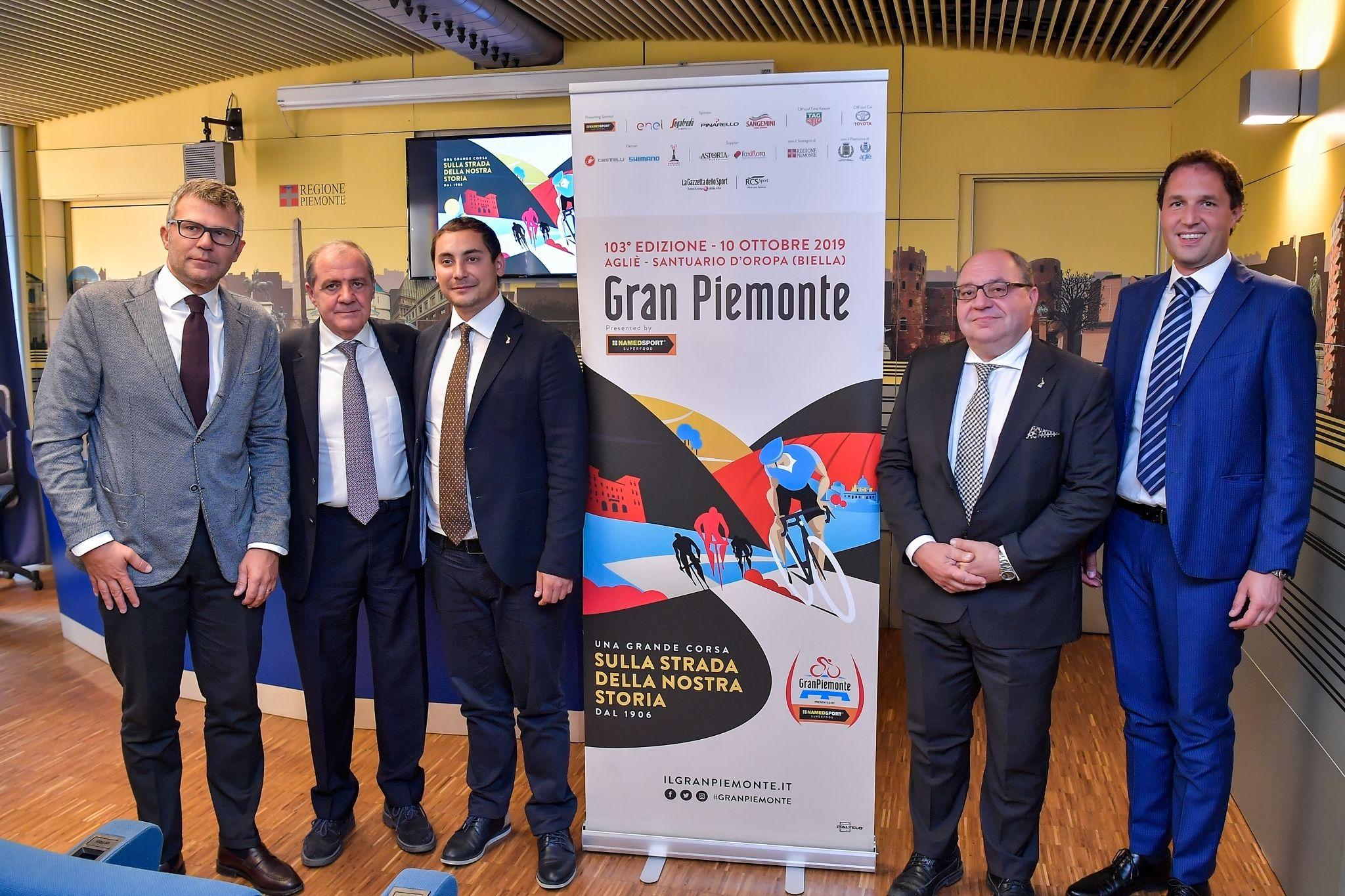 GRAN PIEMONTE - Il ciclismo dei grandi torna in Canavese: il 10 ottobre da Agliè parte la classica piemontese - FOTO E PERCORSO