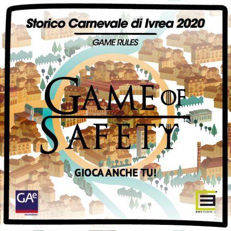 IVREA - Carnevale, si gioca anche quest'anno al «Game of Safety»