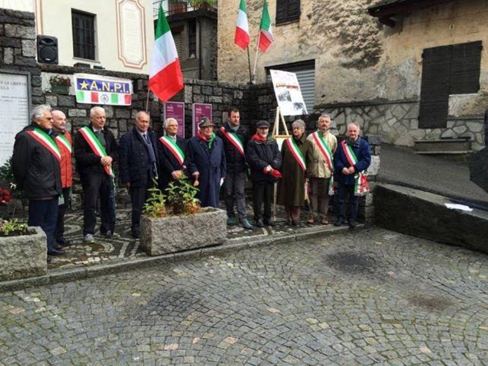 TRAVERSELLA - L'Anpi ha ricordato i partigiani caduti - FOTO