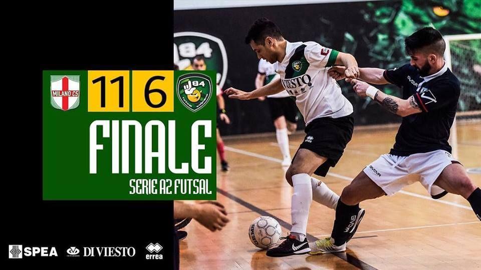 CALCIO A 5 SERIE A2 - L84 sconfitta: tutto all'ultima giornata per i playoff