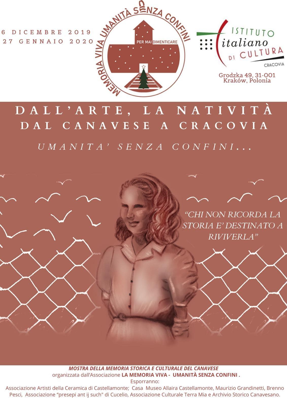 CANAVESE - Dall'arte, la Natività del Canavese a Cracovia: umanità senza confini