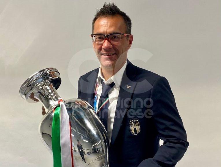RIVAROLO - Un canavesano campione d'Europa con l'Italia. Andrea Scanavino: «La forza del gruppo è il segreto del successo a Euro2020»