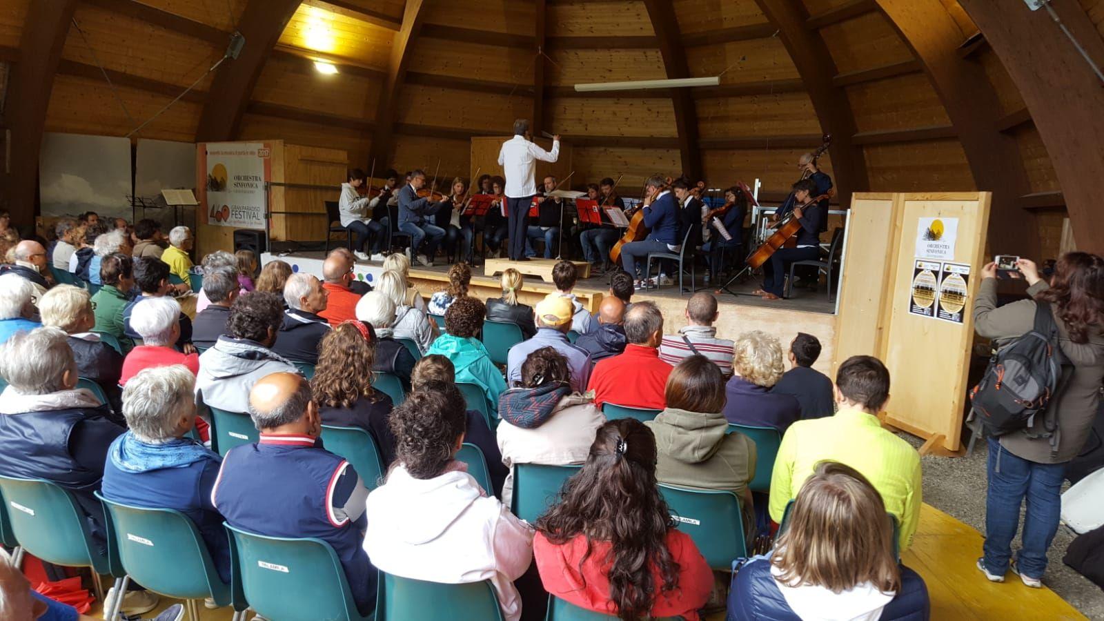CERESOLE REALE - L'orchestra Gran Paradiso ha ricordato Gianpiero Mattioda - VIDEO