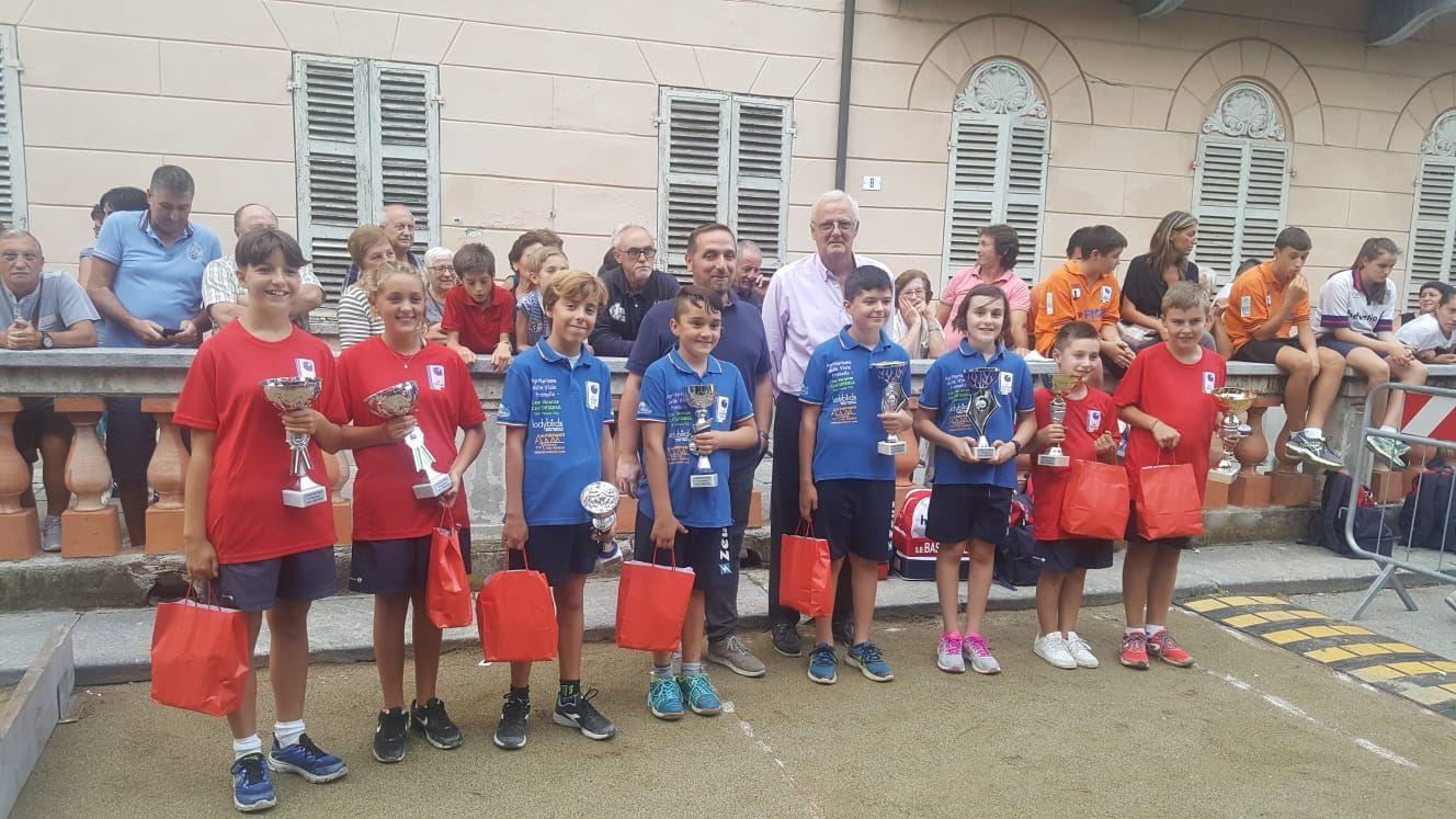 BOCCE - Il Pertusio vince il trofeo Città di Favria under 12