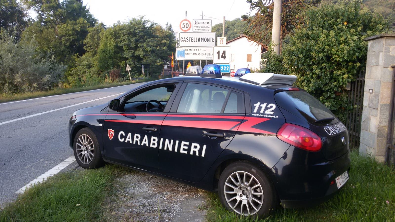 CASTELLAMONTE - Espulso rientra in Canavese: arrestato