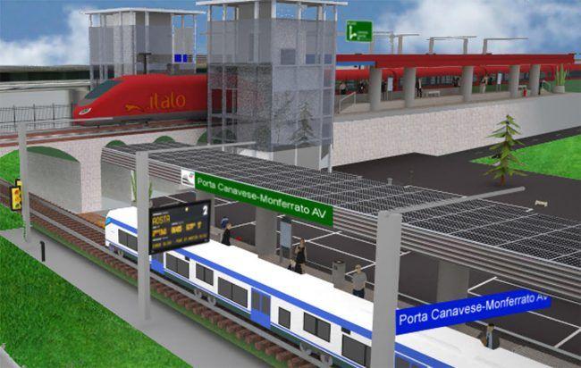 CHIVASSO - Alta velocità: 5 Stelle favorevoli alla fermata d'interscambio