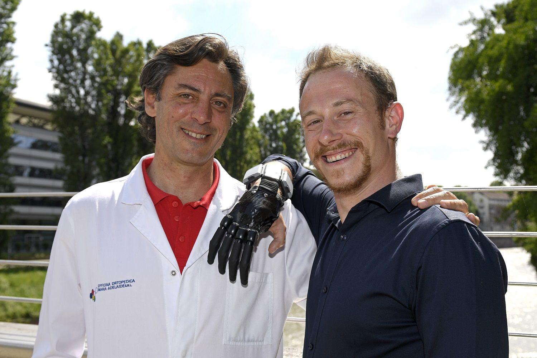 IVREA - Una protesi bionica dopo l'incidente sul lavoro: la storia di Marco Bucci - FOTO