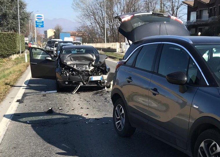 FELETTO - Incidente sulla 460: ferito pensionato di Rivarolo - FOTO