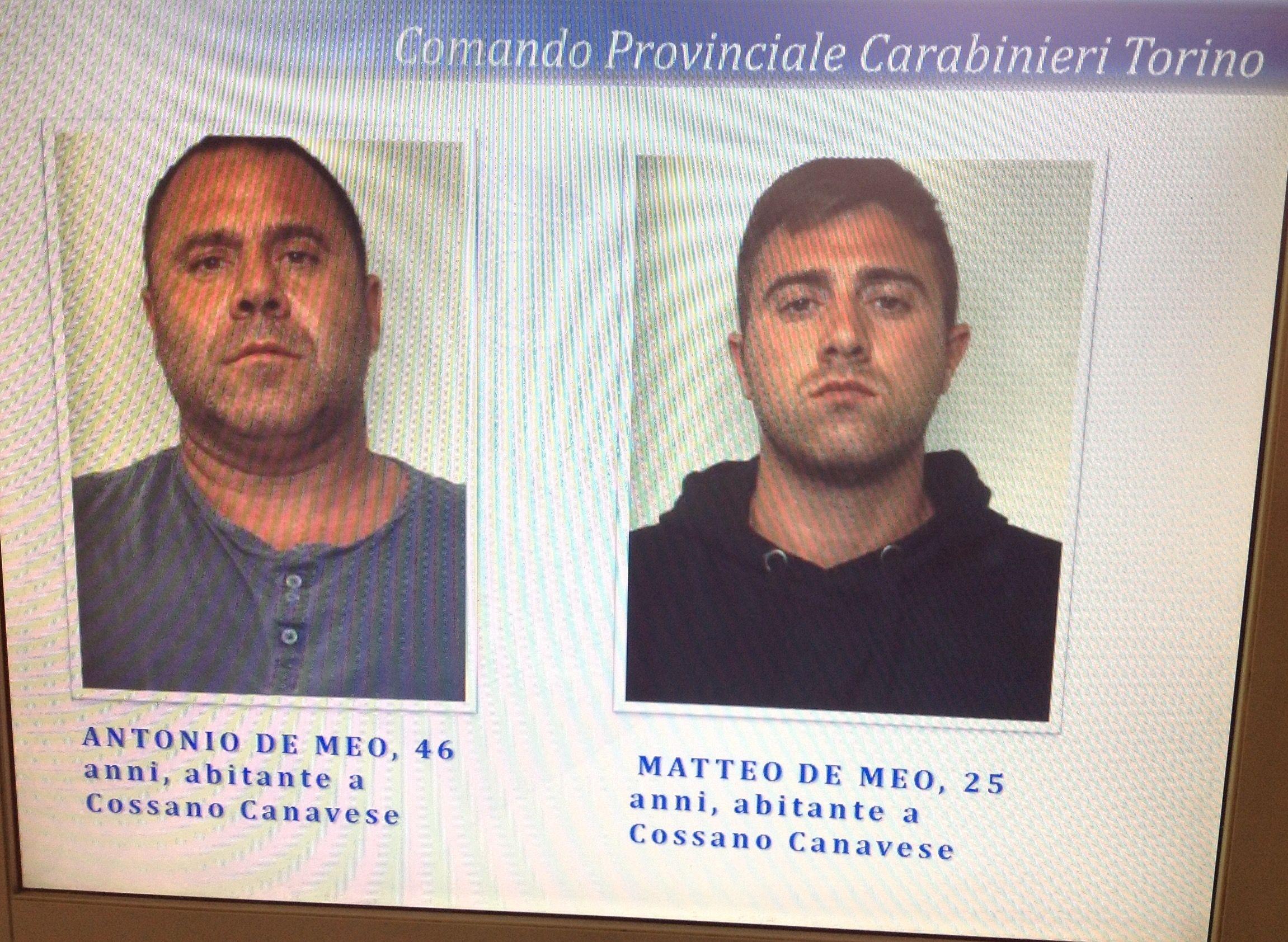 MONTALENGHE - Padre e figlio di Cossano Canavese arrestati per l'omicidio - FOTO DEI KILLER