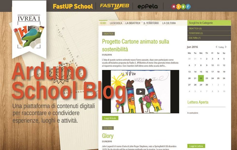 IVREA - Nasce il crowdfunding per Arduino School Blog
