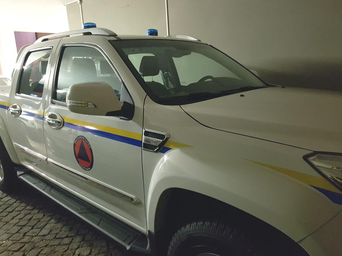 VOLPIANO - Nuovo mezzo in servizio per la protezione civile