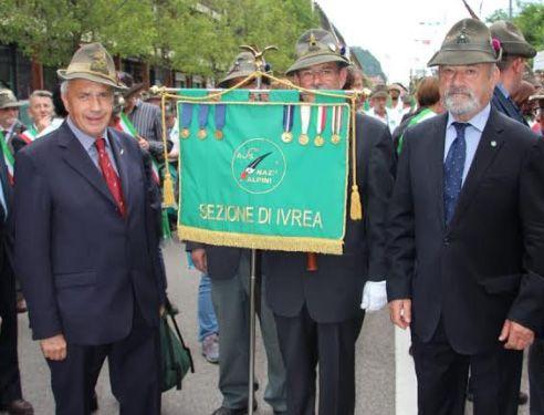 IVREA - Alpini, Giuseppe Franzoso è il nuovo presidente dell'Ana