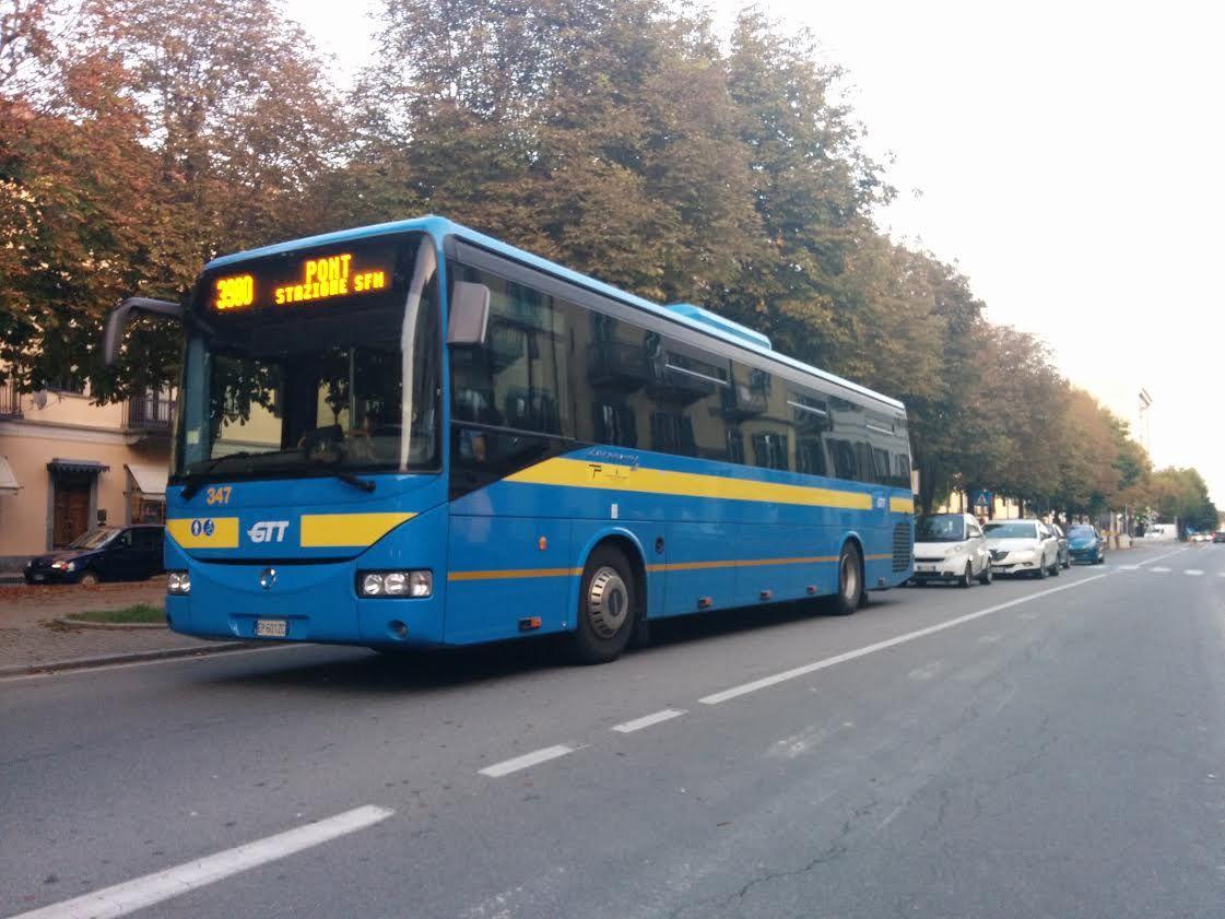 FERROVIA CANAVESANA - Martedì bus al posto dei treni sulla Pont-Rivarolo