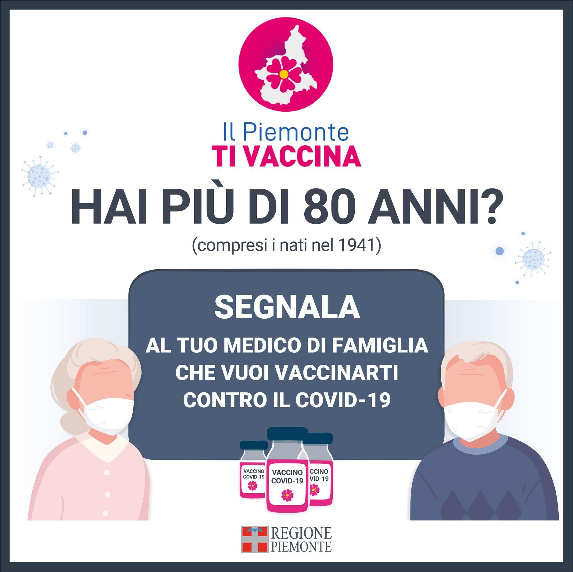 CANAVESE - Il 60% dei pensionati over 80 ha già prenotato il vaccino anti covid - I DATI