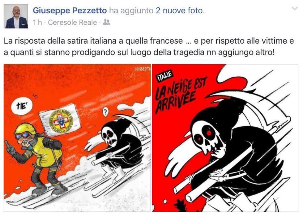 SLAVINA SULL'HOTEL - La satira italiana contro Charlie Hebdo