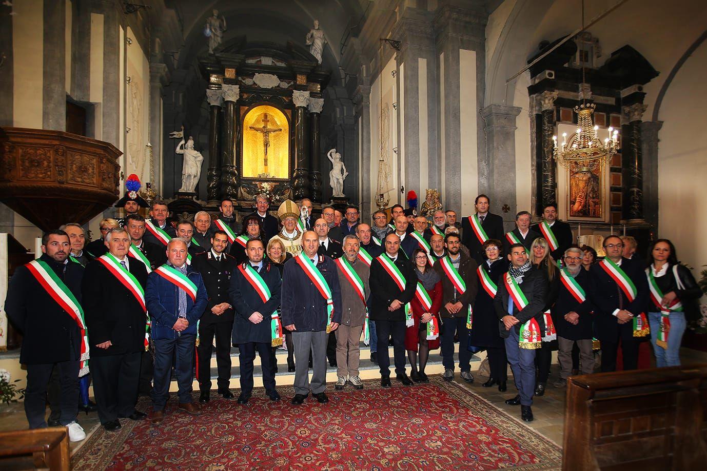 PONT CANAVESE - I carabinieri hanno celebrato la Virgo Fidelis, patrona dell'Arma - FOTO e VIDEO