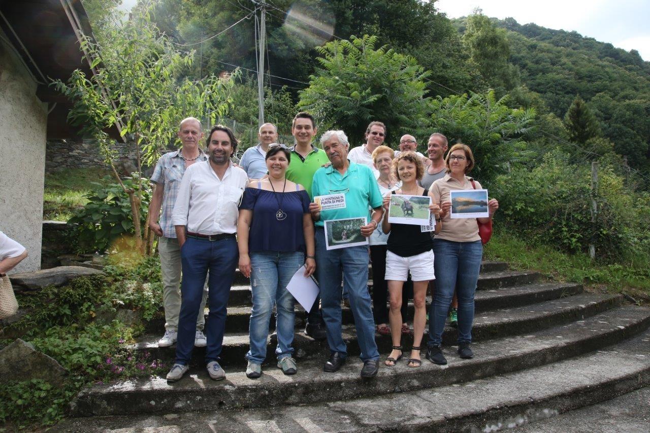 INGRIA - I vincitori de «La montagna in punta di piedi» - FOTO