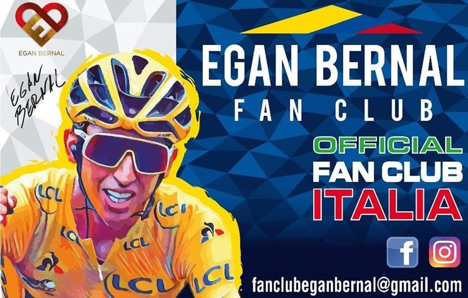 RIVARA - Donazione all'Asl To4 dell'official fan club Italia di Egan Bernal