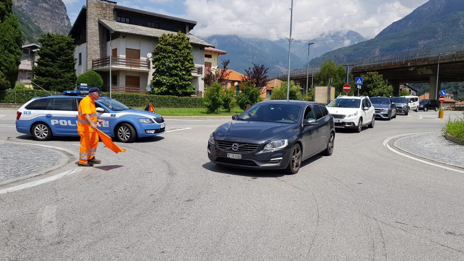 QUINCINETTO - Frana vicino alla A5: seguite tutte le procedure