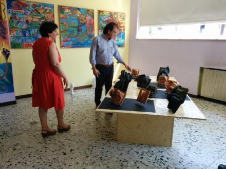 CASTELLAMONTE - Al liceo Faccio si lavora per la Mostra - FOTO