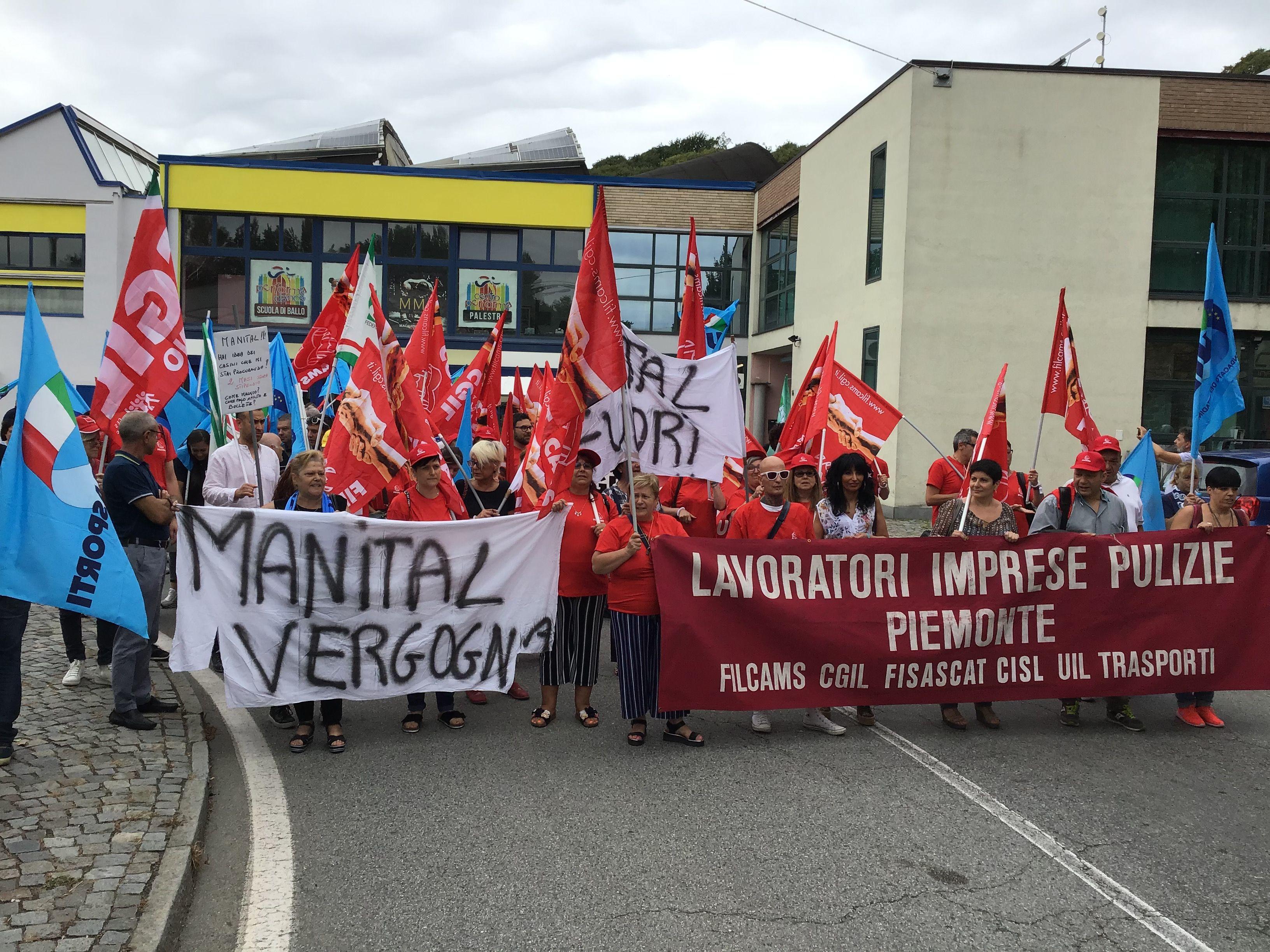 IVREA - «Sarà un brutto Natale per i lavoratori della Manital»