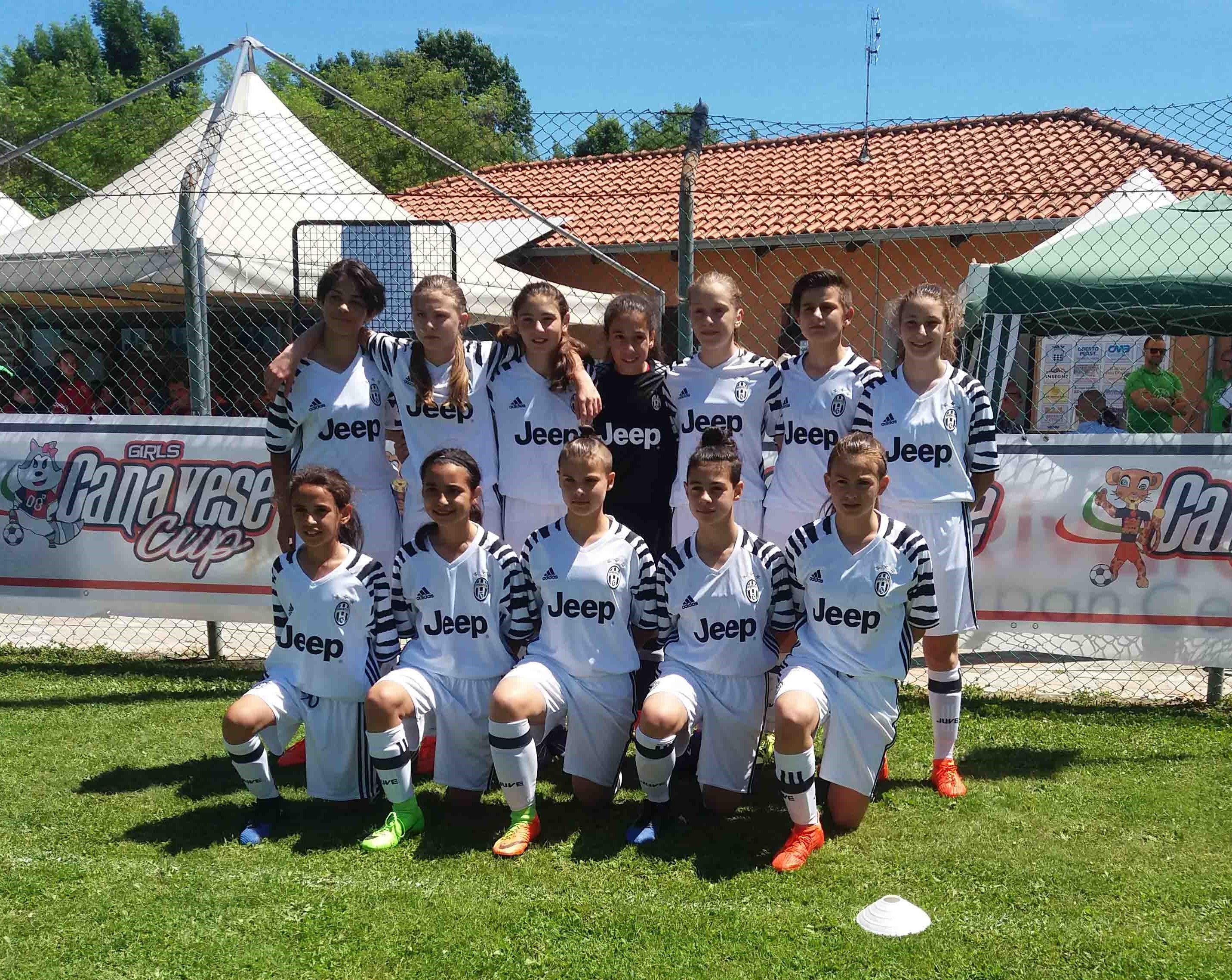 CALCIO - La Juventus vince tutto: anche la «Canavese Girls Cup» - FOTO