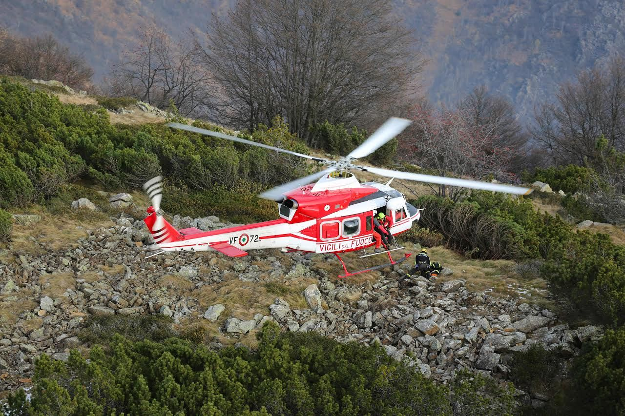 VALPRATO SOANA - Due escursionisti recuperati dai vigili del fuoco