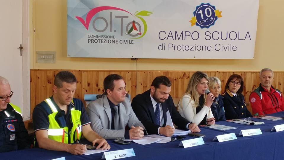 PALAZZO CANAVESE - Maxi esercitazione della protezione civile