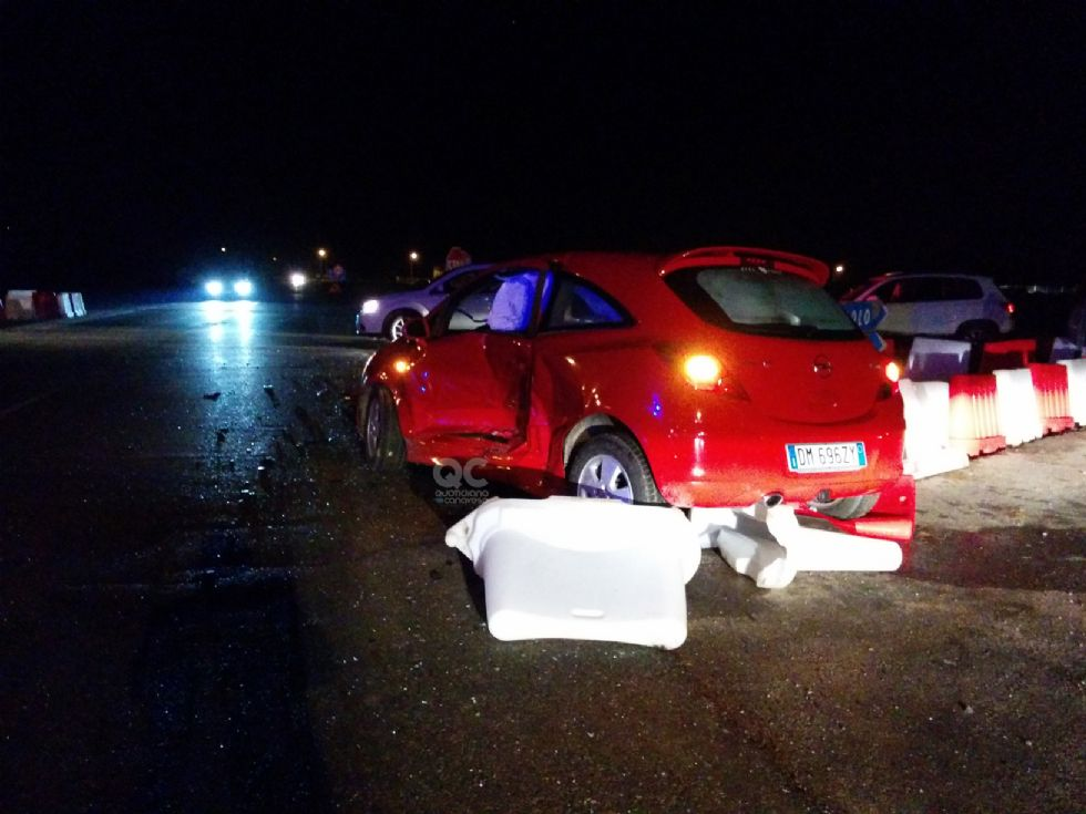 AGLIE' - Ancora un incidente stradale al «solito» incrocio - FOTO
