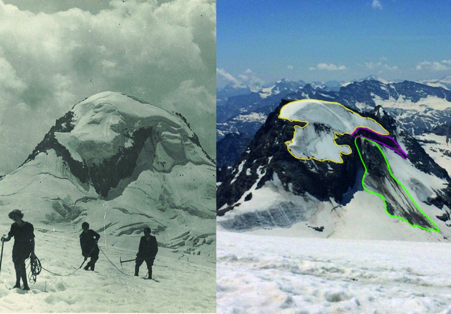 PARCO GRAN PARADISO - Cambiamenti climatici: continua l'arretramento dei ghiacciai in quota