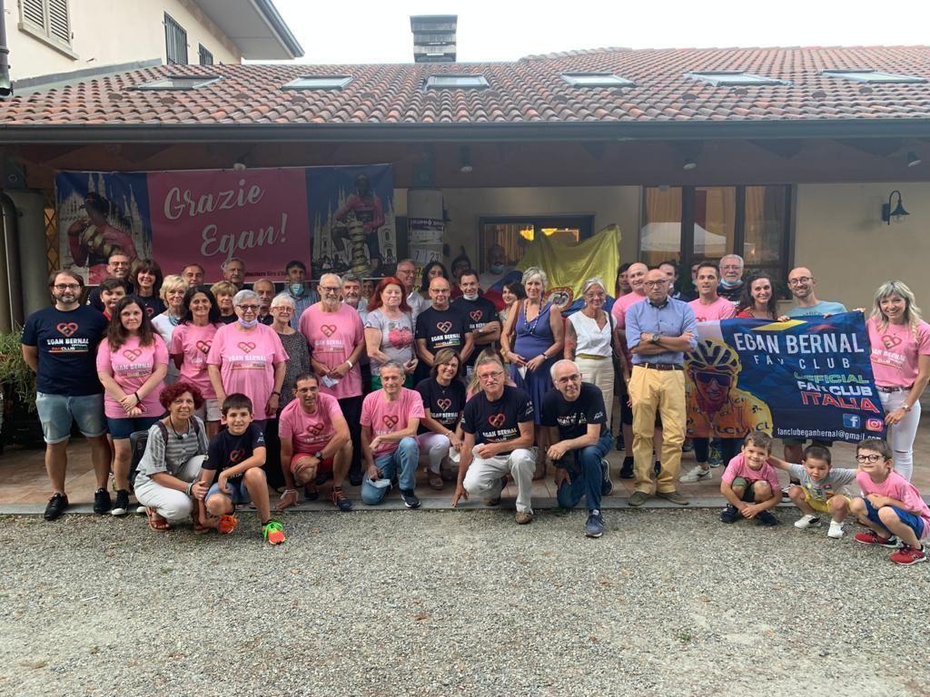 SAN COLOMBANO BELMONTE - Una grande festa in rosa per celebrare il campione Egan Bernal