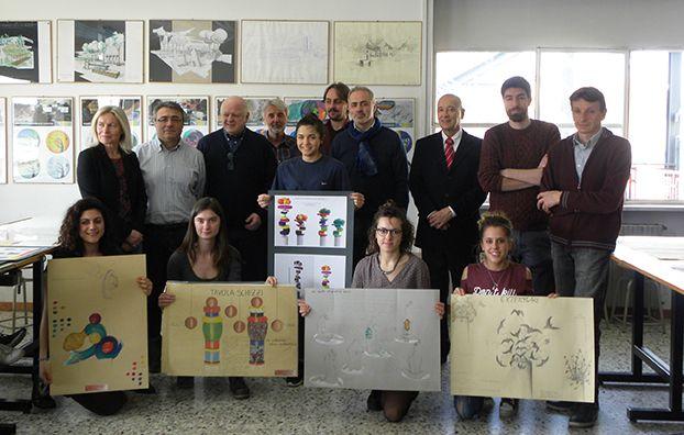 CASTELLAMONTE - I progetti del liceo Faccio colorano il Martinetti