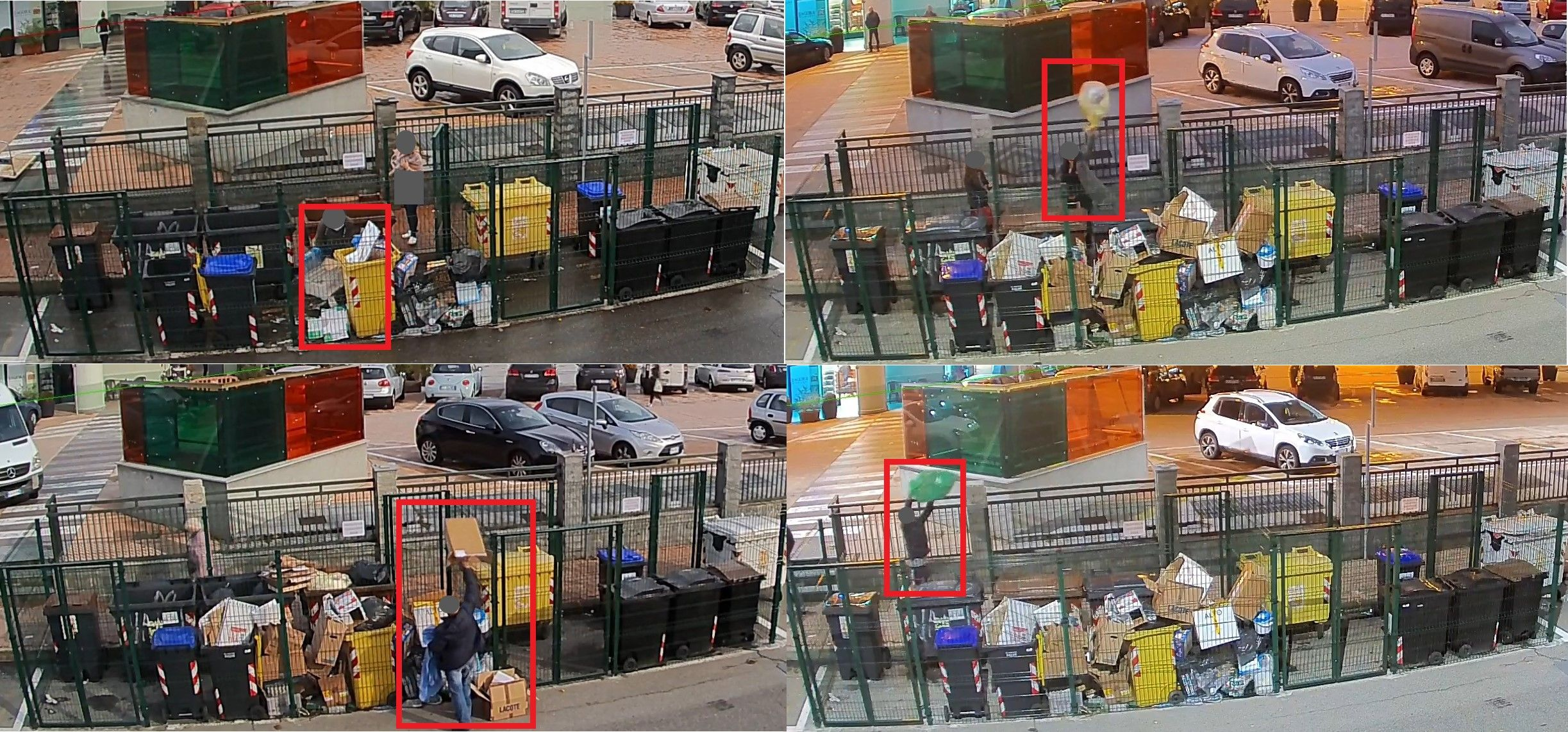 BORGARO - Lanciano i rifiuti dal marciapiede: «maiali» multati dalla polizia municipale - FOTO