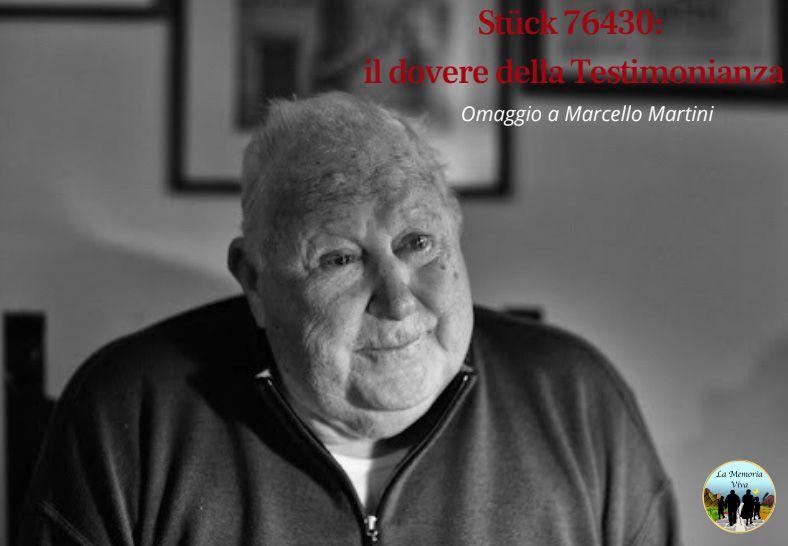 CASTELLAMONTE - L'associazione «La Memoria Viva» rende omaggio a Marcello Martini - VIDEO