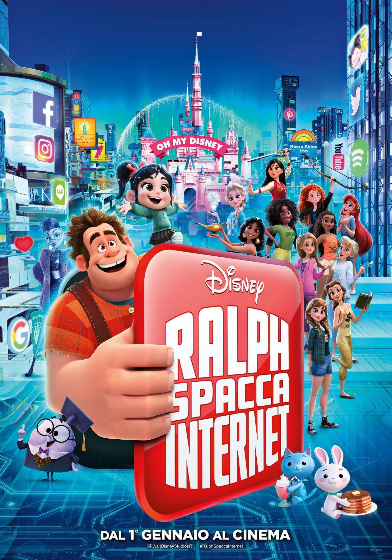 CINEMA IN CANAVESE - Ralph Spacca Internet è il film della befana