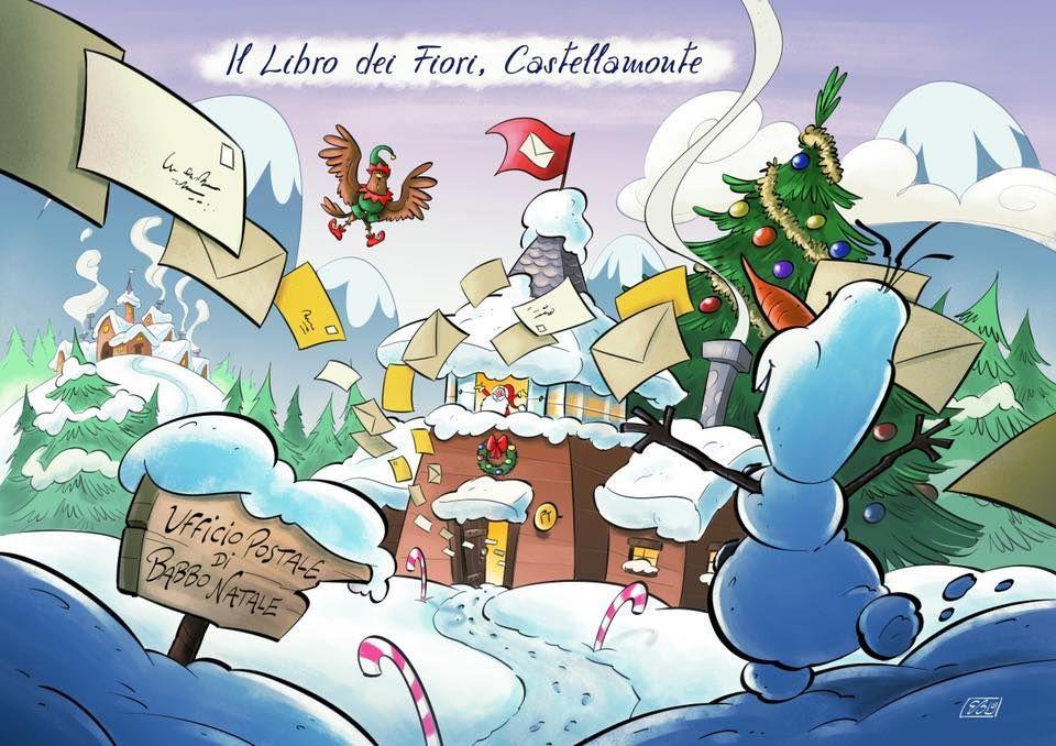 CASTELLAMONTE - E' aperto fino alle feste l'Ufficio Postale di Babbo Natale - VIDEO