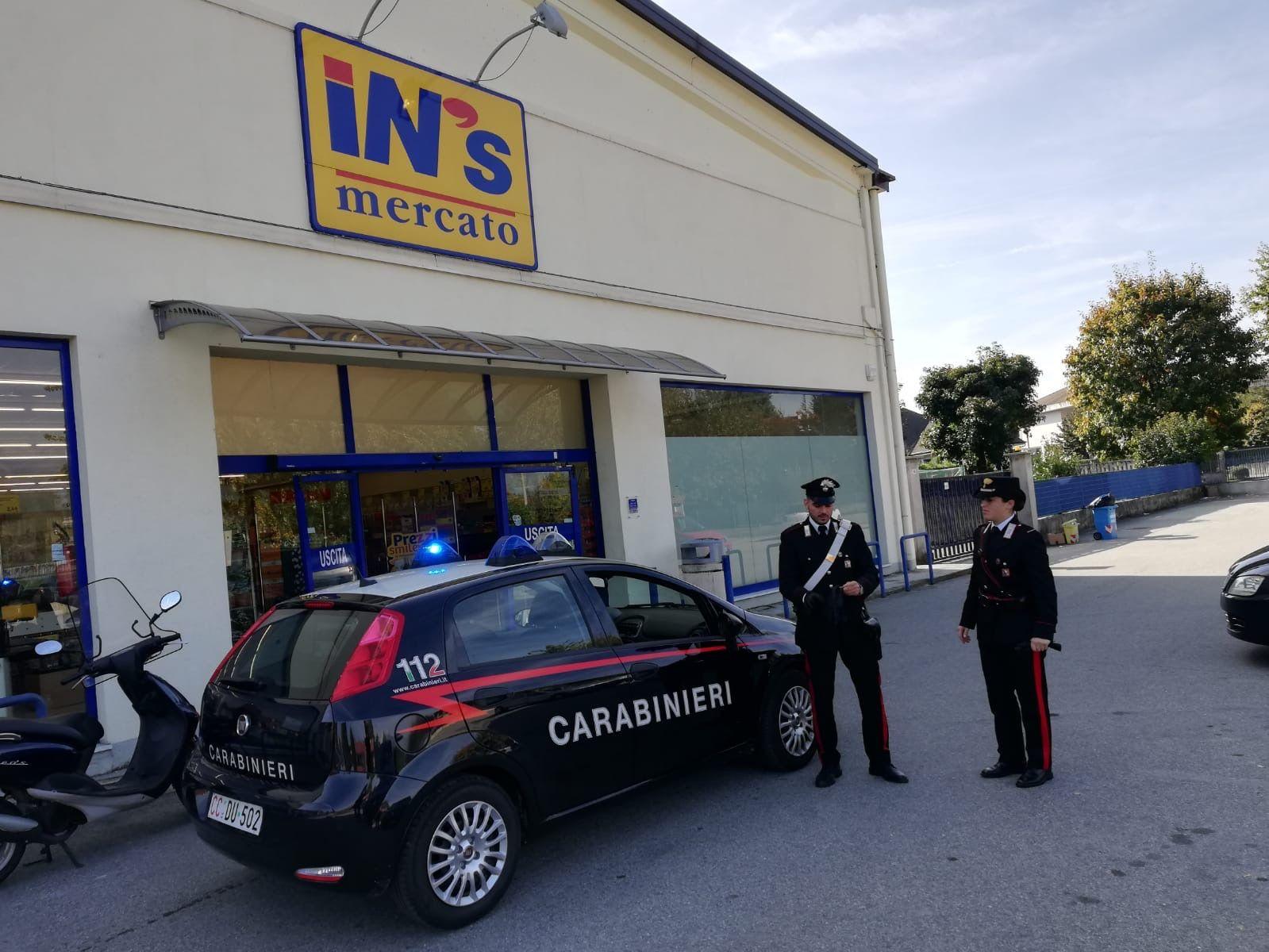 RIVAROLO CANAVESE - Rapina al supermercato: 47enne di Rivarolo arrestato dai carabinieri - VIDEO