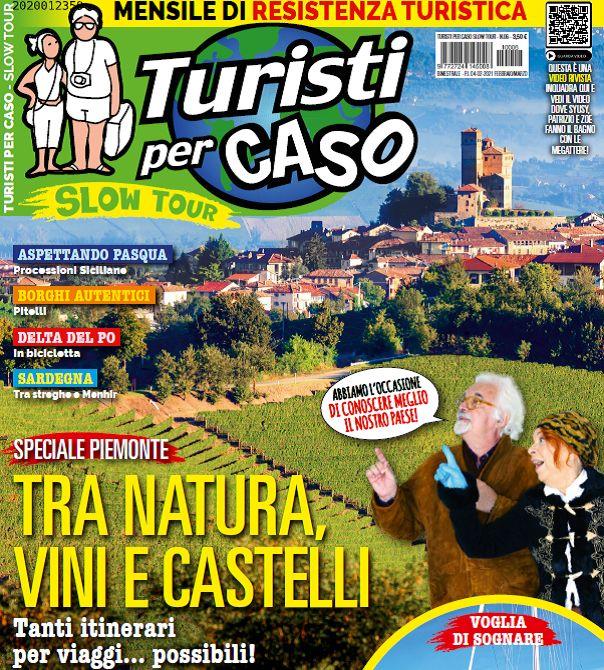 EDICOLA - Un viaggio in Canavese nella rivista «Turisti per Caso» realizzata da Syusy Blady e Patrizio Roversi