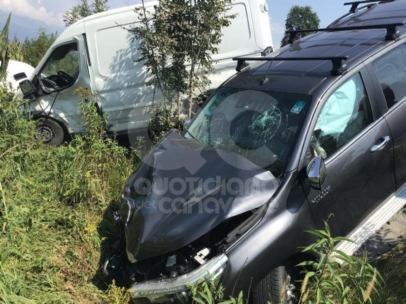 BUSANO - Grave incidente stradale sulla provinciale - VIDEO