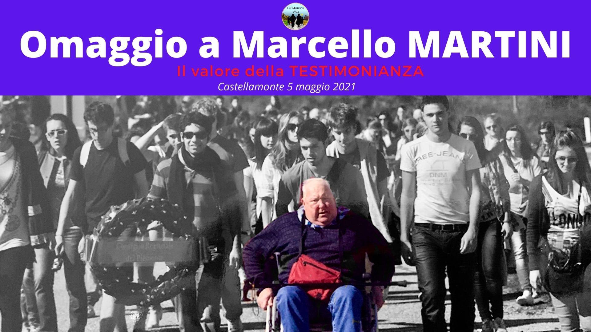 CASTELLAMONTE - «Da adolescente a Stück 76430»: il documentario che omaggia la figura di Marcello Martini