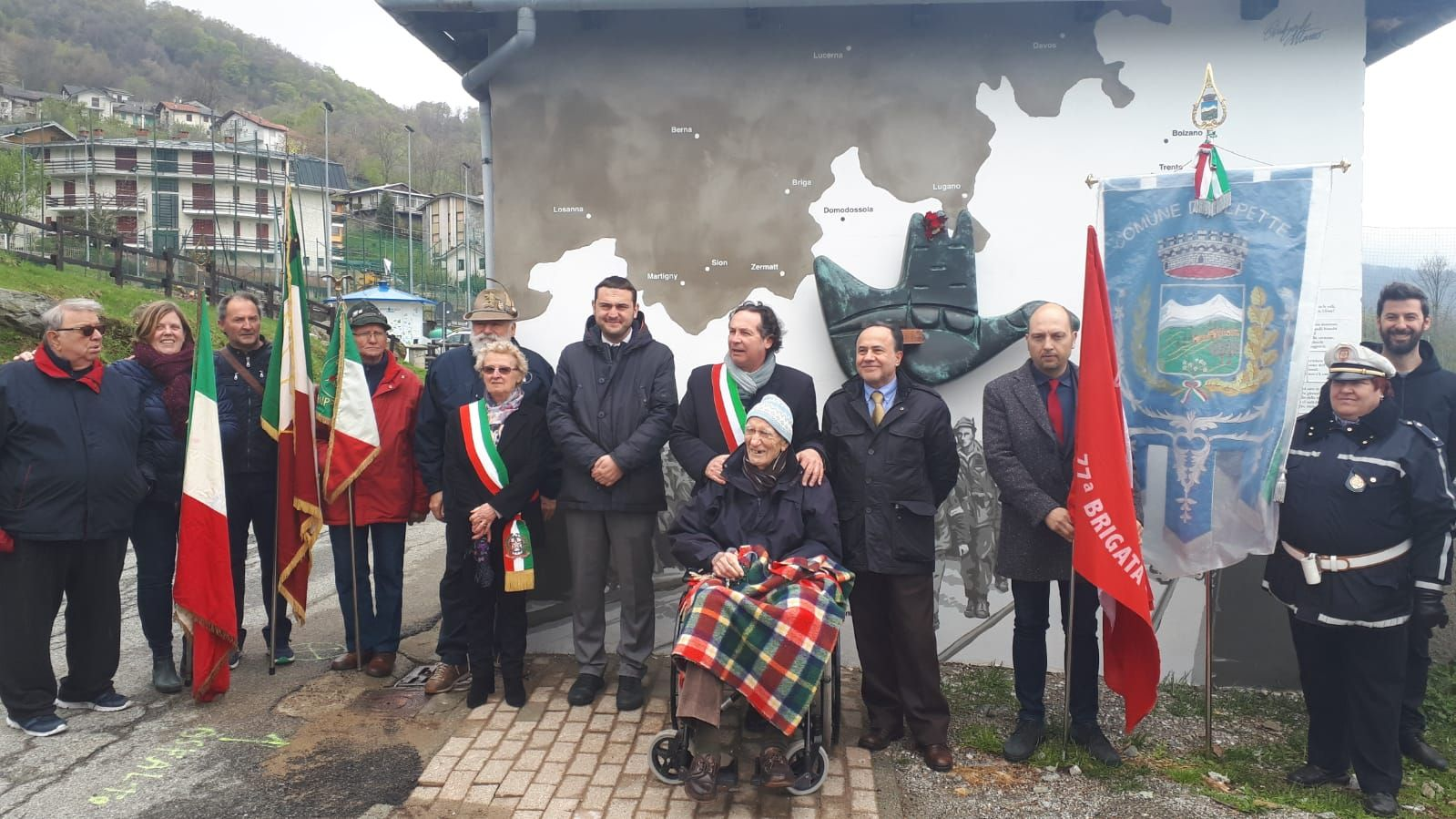 ALPETTE - «Il 25 Aprile e la Resistenza, per gli Alpettesi, sono ancora valori importanti»