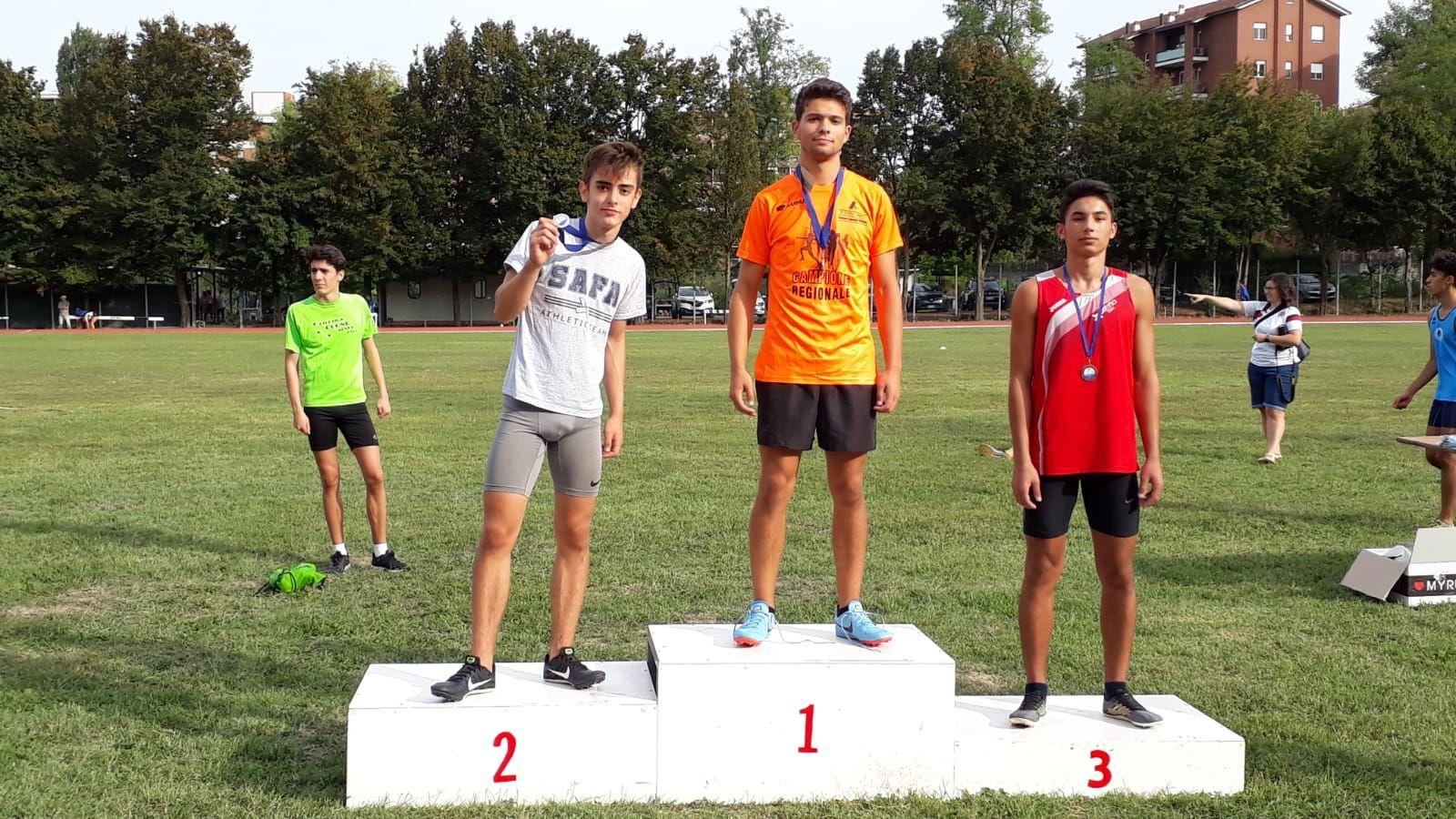 ATLETICA LEGGERA - Tra i cadetti due titoli regionali conquistati dall'Atletica Canavesana