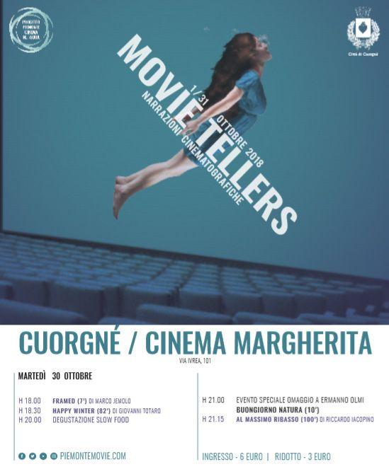 CUORGNE' - Serata speciale al Margherita: film e degustazioni Slow Food - IL PROGRAMMA