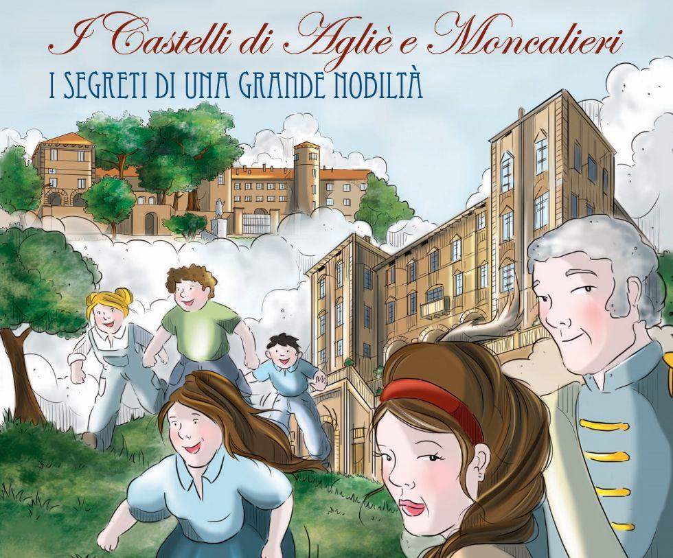 CANAVESE - La storia sabauda a fumetti: ecco la graphic novel dedicata ai castelli di Agliè e Moncalieri