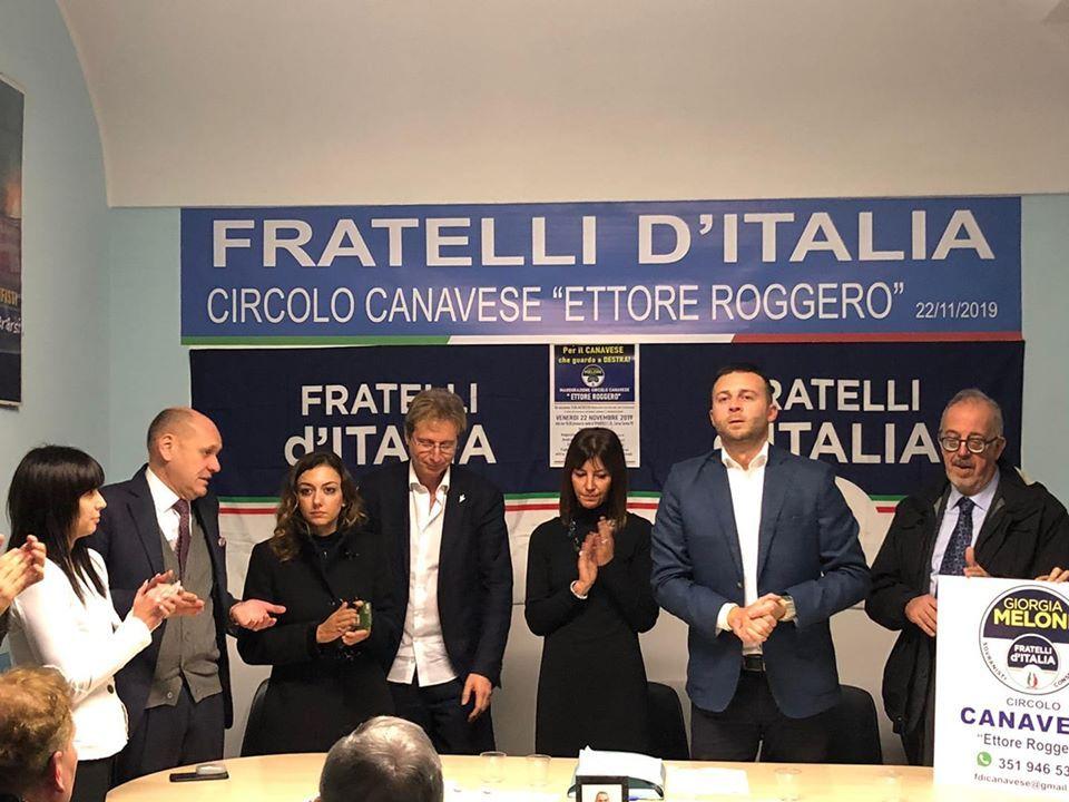 RIVAROLO - Graziano Colacicco nuovo referente del Canavese per Fratelli d'Italia