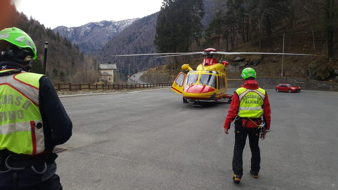FRASSINETTO-INGRIA - Escursionista muore sulle pendici di Punta Rama: è precipitato in un vallone