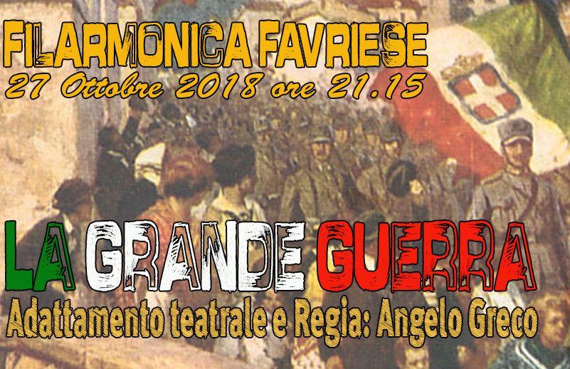 FAVRIA - «La Grande Guerra» diventa un originale spettacolo teatrale