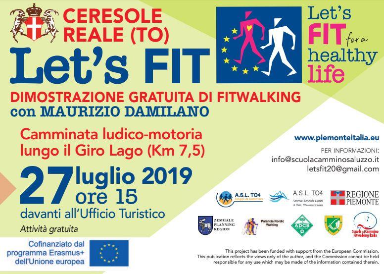 CERESOLE REALE - Camminata ludico-motoria lungo il Giro Lago con Maurizio Damilano