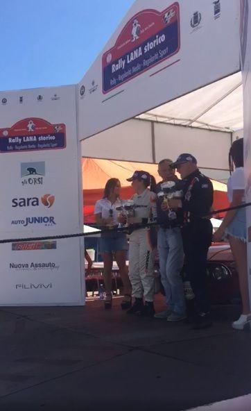 RALLY - Fabrizio Pardi e Silvia Bianco Francesetti in grande spolvero al Rally della Lana