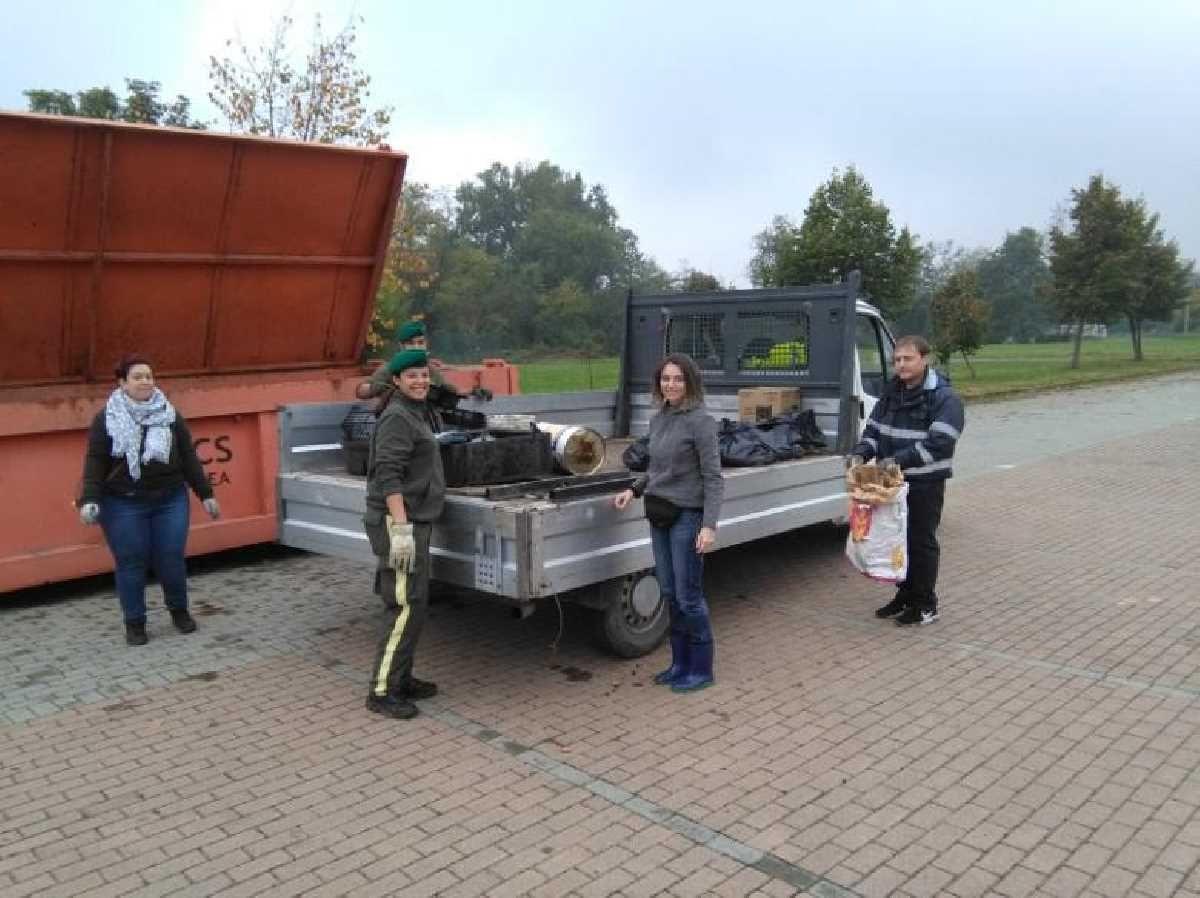 AGLIE' - Sabato la giornata ecologica: volontari a caccia di rifiuti abbandonati